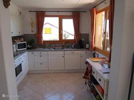 Luxury kitchen, fully equipped