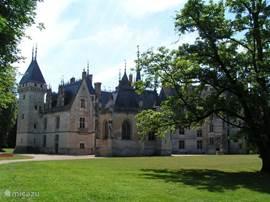 Meillant een kasteel welke ligt op 20 km van de woning in de route van vele kastelen jaq de coeur.