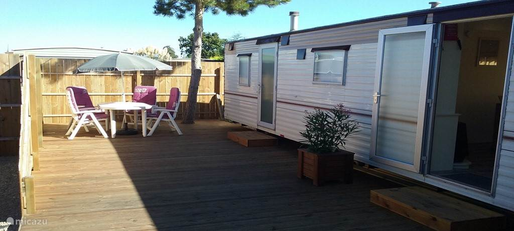 Vacation rental Netherlands, Zeeland, Burgh Haamstede mobile home 1 tot 6 p. stacaravan aan zee
