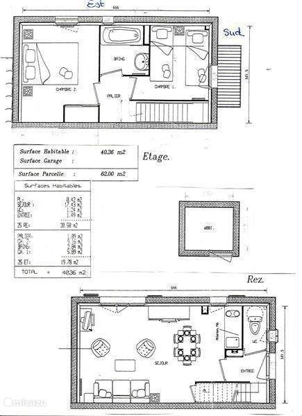 Layout of the house