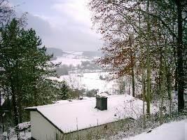 winter uitzicht z-w