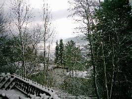 winter uitzicht z-o