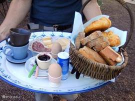 Lekker ontbijtje is ook mogelijk op Soulisse!