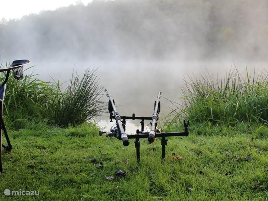 Bij het meer van Soulisse kun je vissen, er zit o.a. karper en snoek, op 5 min. rijden ligt étang de Pirot, een veel groter meer waar je voor Euro 10,-- per dag kan vissen.
