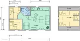 plan bungalow