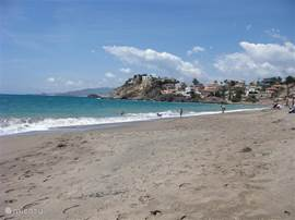 strand Bolnuevo in oktober