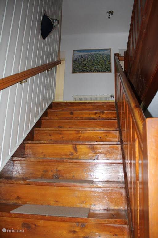 Stairs to 1st floor.