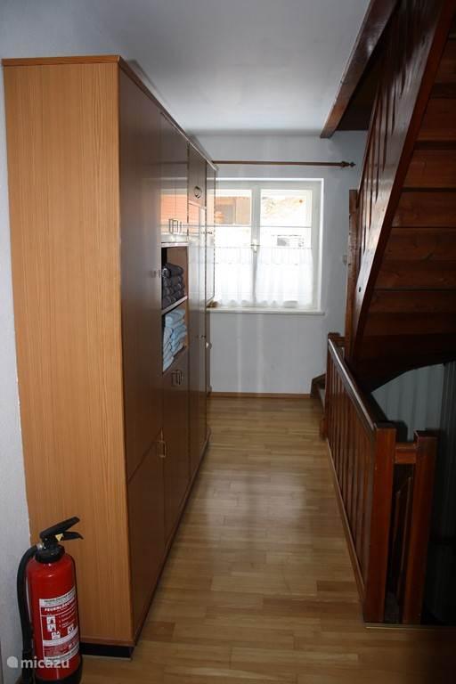 Overloop 1e verdieping.