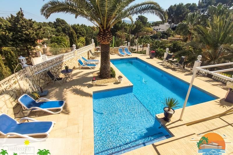 Vakantiehuis Spanje, Costa Blanca, Alfáz del Pi Appartement Villa Delfin 4 Pers Appart (beneden)