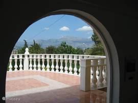 uitzicht vanuit de Serre