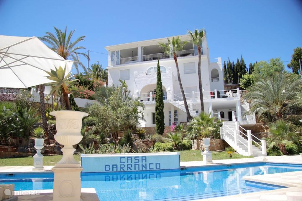 Vakantiehuis Spanje, Costa Blanca, Alfáz del Pi villa Casa Barranco