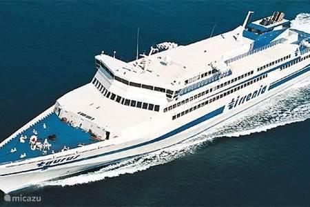 Veerboten naar Sardinië