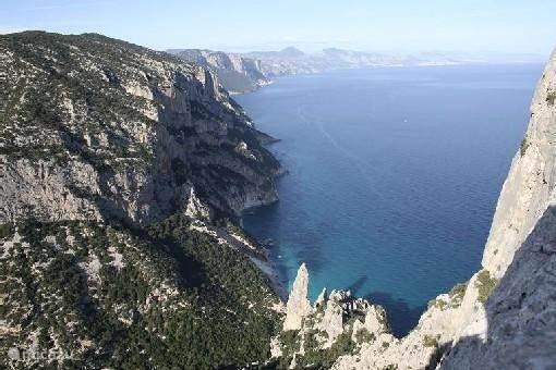 De oostkust van Sardegna
