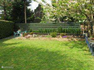 Tuin met ruim grasveld