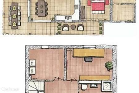 plattegrond van het huis