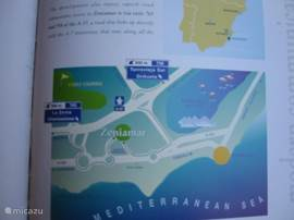 Dicht bij het vliegveld Alicante.