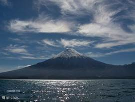 The Osorno volcano, near Puerto Montt