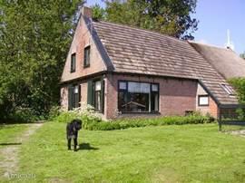 De voorzijde van Vakantieboerderij Rintjeshoek.