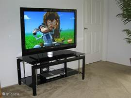 Natuurlijk Philips TV in de woonkamer, beeldmaat 127 cm en meer dan 200 zenders!
