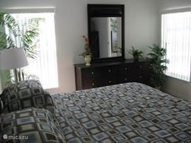 Grootste slaapkamer, natuurlijk met tv