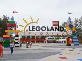 Legoland Florida, nog geen half uurtje rijden!