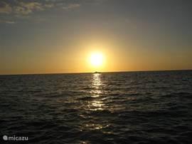 Zonsondergang (Golf van Mexico)