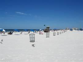 Er zijn heel veel prachtige stranden in Florida.