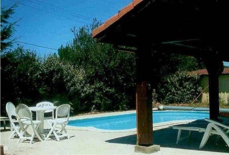 Vakantiehuis Frankrijk, Gironde, Sainte-Eulalie vakantiehuis Madu met privé zwembad
