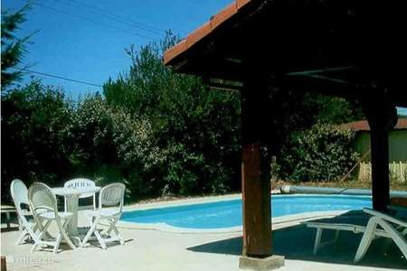 Vacation rental France, Landes, Sainte-Eulalie-en-Born holiday house Madu with private pool