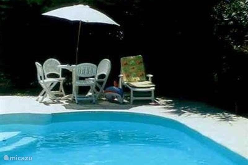 Vakantiehuis Frankrijk, Landes, Sainte-Eulalie-en-Born Vakantiehuis Madu met privé zwembad