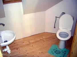 Toilet bedroom floor