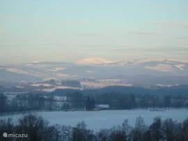 Winter View of Schneekoppe