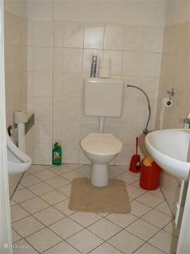 Toilet with Pissoir