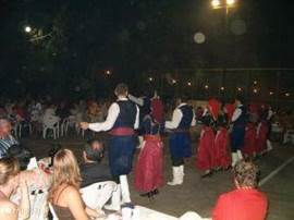 The village festival in Mirtos. (Photo July 2005)