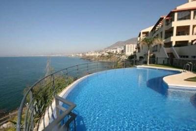 Vakantiehuis Spanje, Costa del Sol, Benalmádena Costa Appartement Front Line beach - Benalmadena
