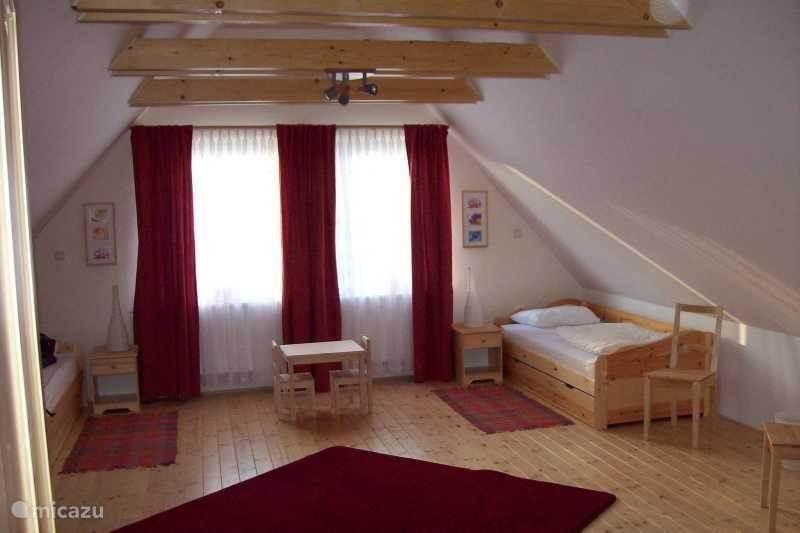 Slaapkamers boven