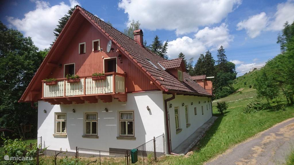 Vacation rental Czech Republic, Bohemia East, Lišnice Holiday house Qlik Lisnice *****