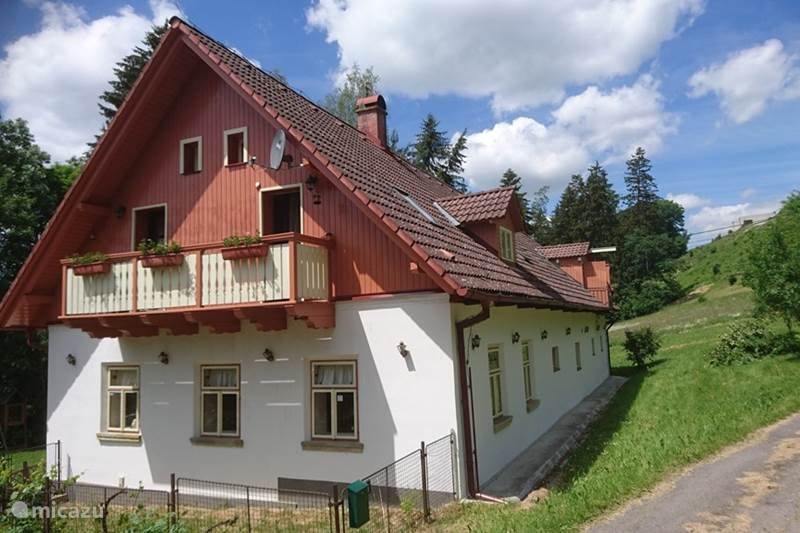 Vacation rental Czech Republic, Bohemia East, Lišnice Holiday house Qlik Lisnice *****