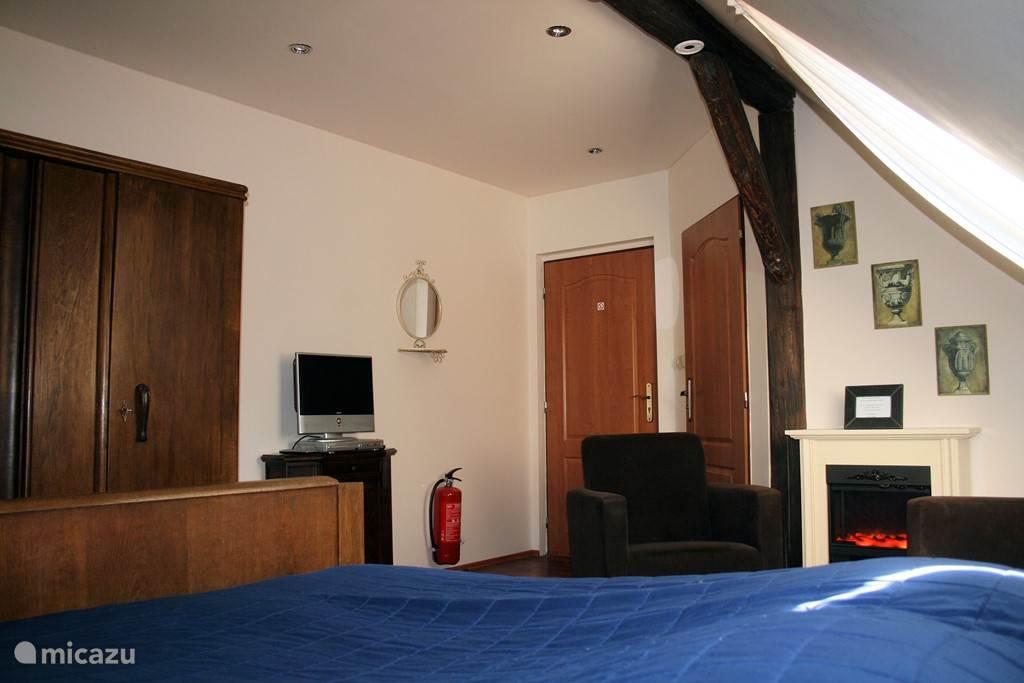 Slaapkamer 3 met ruime kledingkast
