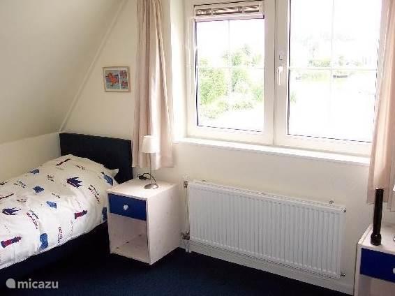 twee ruime slaapkamers met bedden van 2m