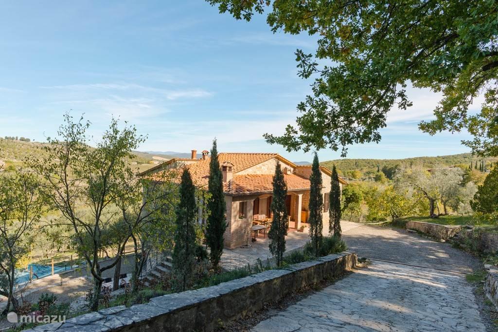 Vacation rental Italy, Tuscany, Castellina In Chianti villa Cas'al Verde