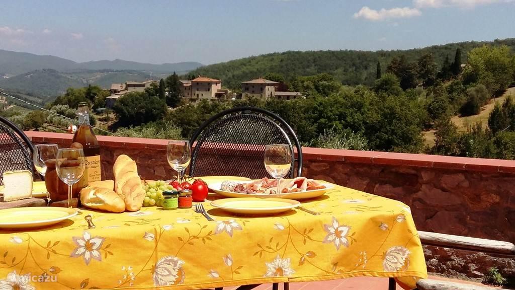 Vakantiehuis Italië, Toscane, Castellina In Chianti Villa Cas'al Verde