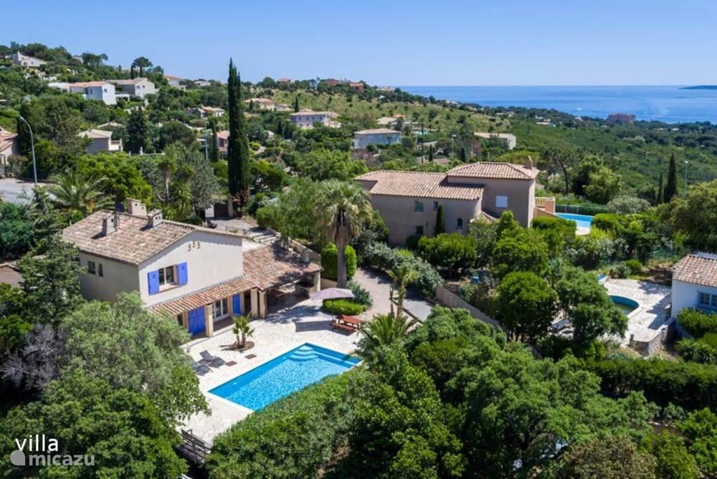 Rent Villa Alcyone In Sainte Maxime French Riviera Micazu