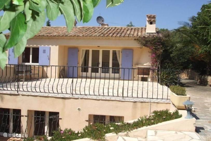 Vacation rental France, French Riviera, Sainte-Maxime Villa Villa Alcyone