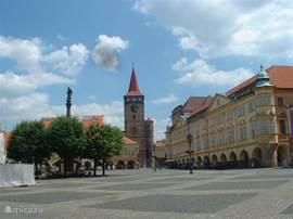 het mooie plein van Jicin