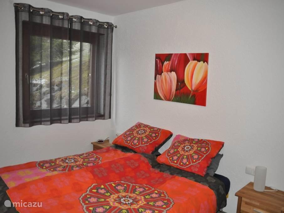 slaapkamer 1, 2 persoonsbed, vloerverwarming