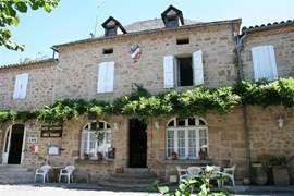 Cardaillac; Hotel/ restaurant Chez Marcel
