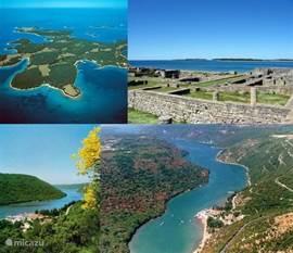 Natuurparken in de buurt van de vakantiewoning - Limski Kanal en Brijuni Isles