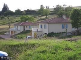 Uitzicht villa L'Oustal Niau