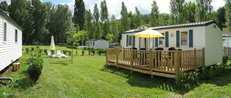 Vacation rental France, Dordogne, Rauzan mobile home luxury Mobile